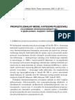 Propozycjonalny Model Kategorii Pojeciowej