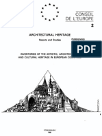 Architectural Heritage Reports and Studies