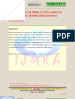 A Comparative Study on Evaluation of Selected Mutual Funds Inindia