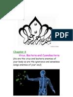 Ninth Class Biology MCQs (Virus, Bacteria and Cyanobacteria)