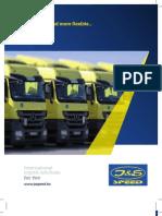 Company Brochure - JS Speed Ltd. - Hungary