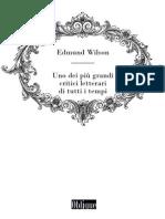 Edmund Wilson, uno dei più grandi critici letterari di tutti i tempi
