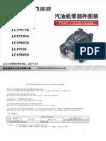 Engines发动机LC1P61FA、LC1P65FA、LC1P68FA、LC1P70FA、LC1P70F零件图册 - copia