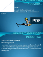 Clases de Higiene y Seguridad Industrial