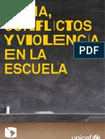 Clima Conflicto Violencia Escuelas UNICEF