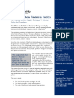 Hamilton Financial Index, February 2013