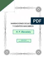 Blavatsky, H.P. - Narraciones Ocultistas Y Cuentos Macabros
