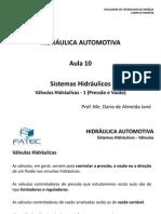 Hidraulica Automotiva Aula 10 Valvulas Hidraulicas 1