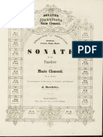 Clementi - 12 n.1 - Sonata Bb Ed.moscheles