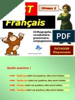 Test Francais Niveau 2 Patagon
