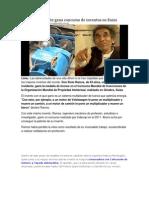 Peruano Invidente Gana Concurso de Inventos en Suiza