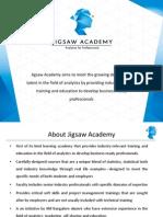 1-Jigsaw Academy Foundation Analytics