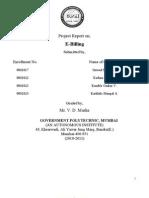 e Billing Report