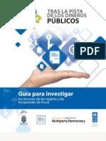 Guía Tras La Pista de Los Dineros Públicos