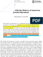 Jacobs-History of American Jewish Education