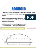 sprial & trochoid