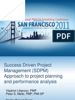 SDPM Approach to Project Planning and Performance Analysis