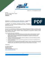 Cotización PMP General Ing Héctor Miguel Mateo Olguín V 1 0