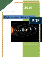 36057497 Sistema Solar y Los Planetas Proyecto de Trabajo Para Educacion Infantil