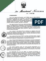 Directiva Para Contrata de Auxiliares 2013 - Inicial , Secundaria.