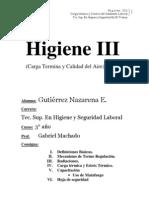 Higiene III