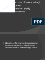 Migraine and Risk of Haemorrhagic Stroke in Women
