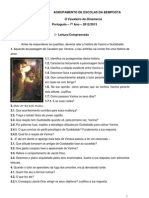 Leitura e compreensão história de Vanina e Guidobaldo