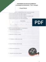 Grupos frásicos, funções sintáticas e formação de palavras