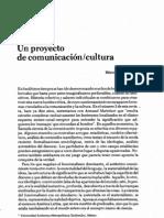 Schmucler_Un proyecto de comunicación cultura