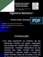 3.2 Fuentes, Calidad y Variaciones