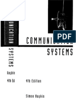 Communication Systems 4Th Edition Simon Haykin With Solutions Manual