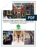 Midwest High-Speed Rail Supply Chain