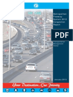 SF 239 presentation -- Congestion Report (February 13, 2013)