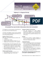 Highway 14 Partnership handout (February 13, 2013)