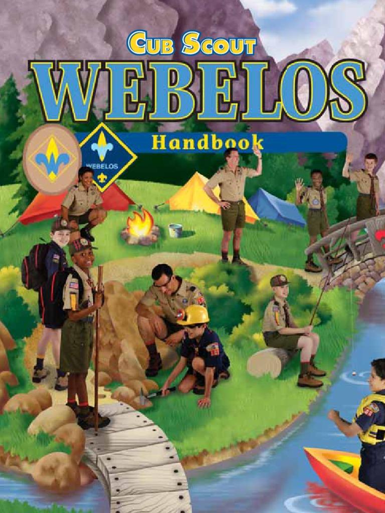 1bb49f89962 Webelos Handbook 33452