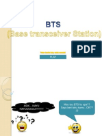 Persentasi PowerPoint Komunikasi Data Dan Jaringan ANALISIS KERJA Base Transceiver Station