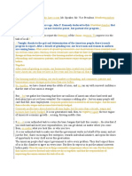 Document Compare - Obama's SOTU speech