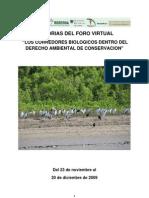 2009 MEMORIA FORO VIRTUAL CORREDORES BIOLOGICOS.pdf
