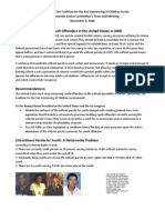 The Coalition for the Fair Sentencing of Children JLWOP Submission to American Bar Association (ABA)