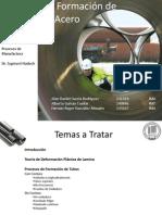 Procesos de Formacion de Tuberias de Acero