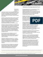 Tax Alert 2013 - Convenio Cambiario 14