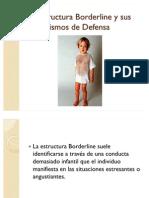 38200065 La Estructura Borderline y Sus Mecanismos de Defensa