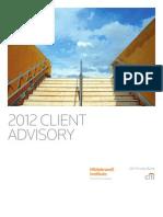 Citi Hildebrandt 2012 Client Advisory