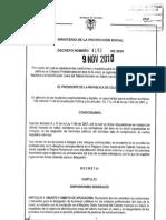 Tarjetas Profesionales en Salud -Colombia