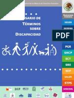 Glosario de Términos sobre Discapacidad