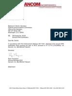 Sancom FCC CPNI Compliance 021313