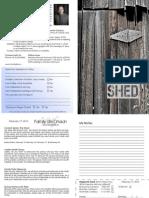 Bulletin for 2-17-2013