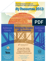 Baltimore City Health Department  Community Resource Guide