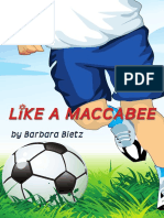 Like a Maccabee (first chapters)
