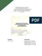 33013597 Trabajo de Mejores Practicas Para El Manejo de Tecnologia de Informacion en Las Organizaciones
